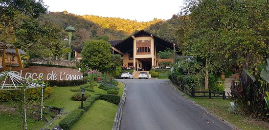 One of the nicer resort in chiang mai surrounding mountain