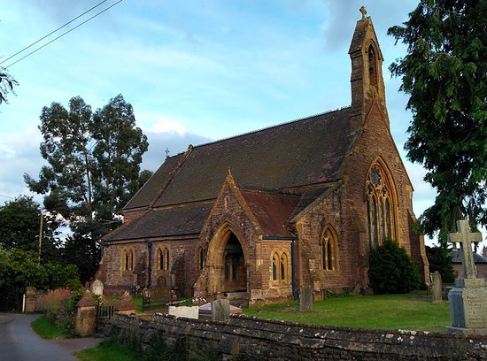 Herefordshire, UK: An interesting Victorian village church where traditional mingles with contemporary