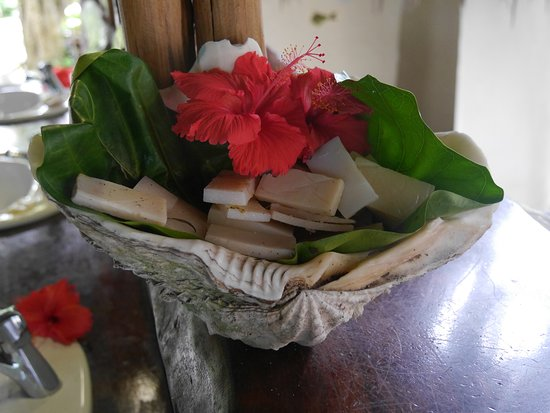 Leleuvia Island, Fiji: Homemade soaps in the washing rooms