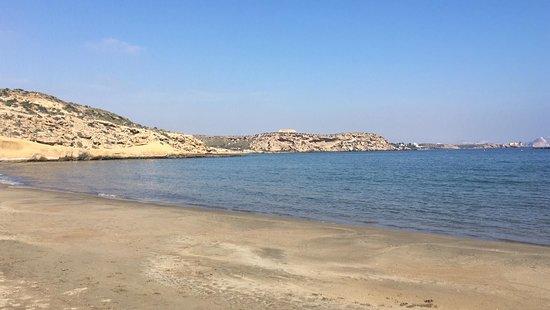 Region of Murcia, Spanyol: Playa salvaje cerquita de Terreros