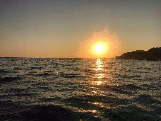 Coucher du soleil en kayak!