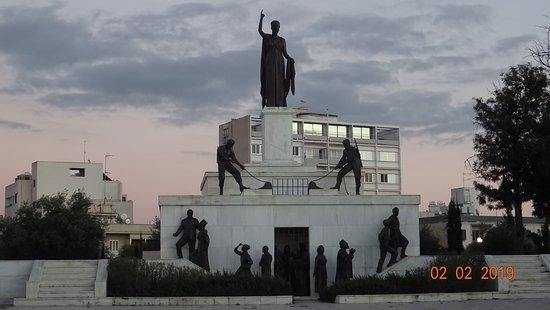 Liberty Monument: Никосия (Лефкосия). Монумент Свободы, 2 февраля 2019 года...