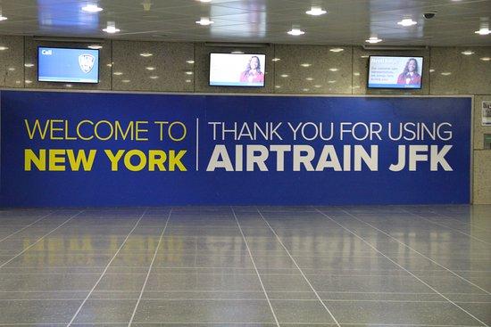 AirTrain JFK: welcome