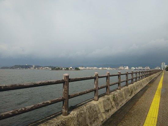 Shimane Prefecture, Japonia: 冬には多少の雪が降る松江、出雲ですが、今年は全く雪がない。 珍しい❗