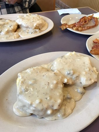 Scott Depot, Virginia Occidental: Love the biscuits and gravy