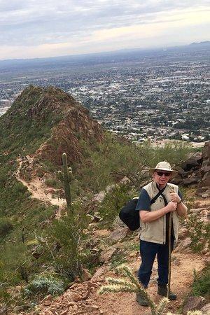 An exhilarating climb