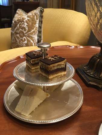 Delicious snacks at the club lounge