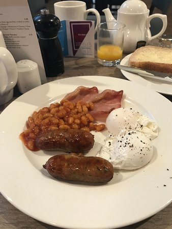 POACHED EGGS COOKED  TO PERFECTION