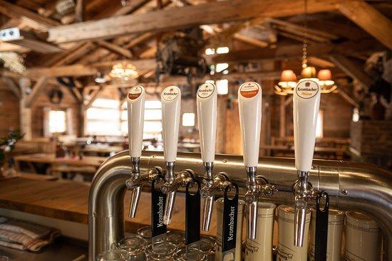Hoenow, Германия: 5 Bier vom Fass in der Alm Deluxe