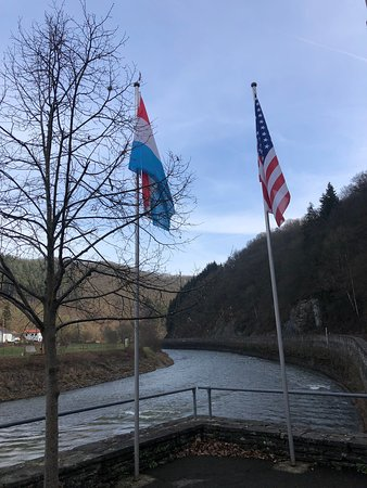 Stolzembourg, Luxemburgo: The first Allied crossing into The Reich in 1944 on September the 11th by the 5th US Armored Division