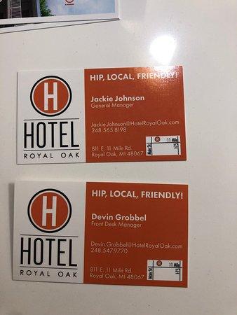Hotel Royal Oak Photo