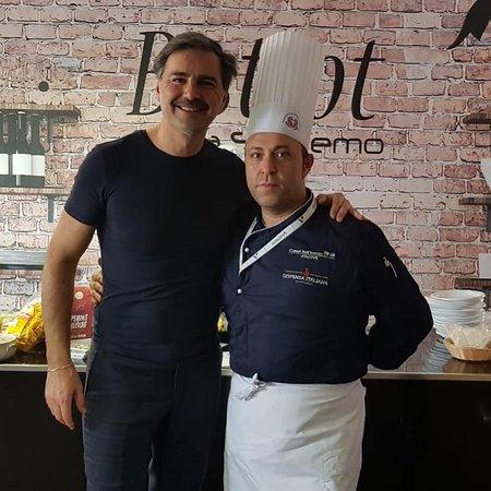 Alcuni vip serviti da Palazzo Gala a casa Sanremo 2019