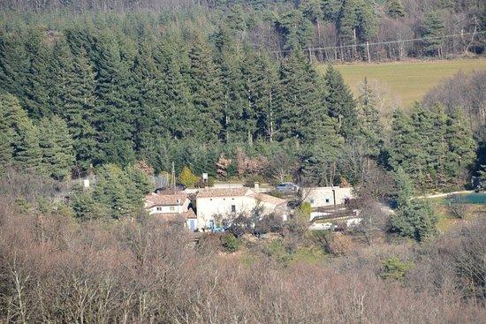 O'Reiller vue des hauteurs du village de Boffres