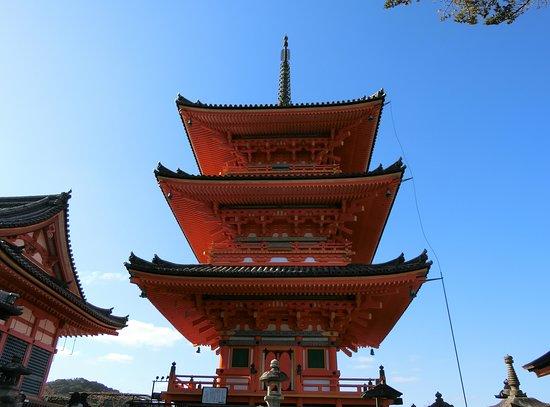 Kiyomizu-dera Temple 3 Storey Tower