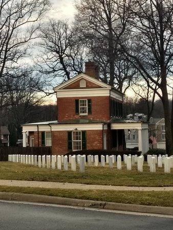 Catonsville, MD: Office at Baltimore National Cemetery