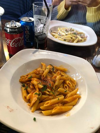 Amalfi: Disappointed with pasta - tasteless and watery