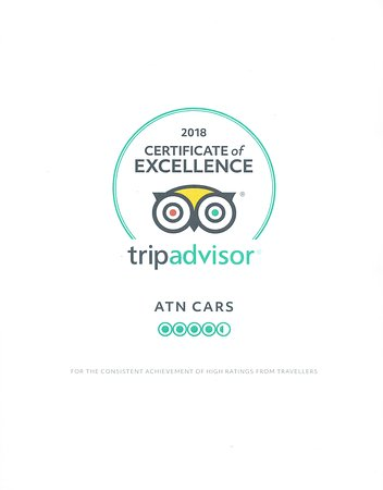 504b50ed896 TripAdvisor gives a Certificate of Excellence to accommodations