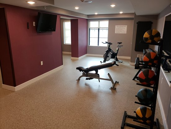 Aberdeen, MD: Fitness room