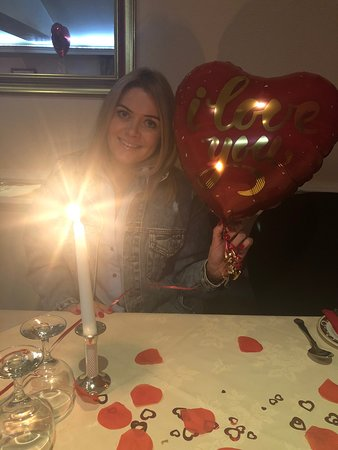 Yummy valentines meal!  Great friendly service! Beautiful valentines setting!  Lots of effort, tasty dinner, friendly staff! We can't wait to go back