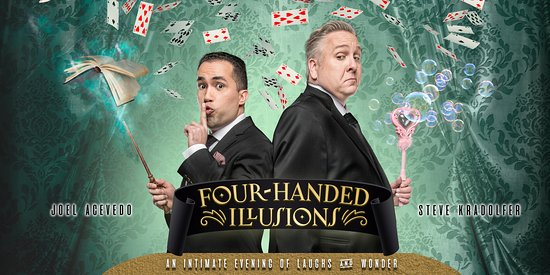 ‪Four-Handed Illusions: An Intimate Evening of Laughs & Wonder‬