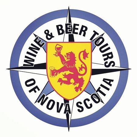 ยาร์เมาท์, แคนาดา: Wine & Beer Tours of Nova Scotia Logo