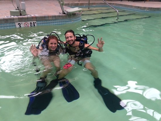 Eastham, MA: Adventure Diving of Cape Cod - pool Training