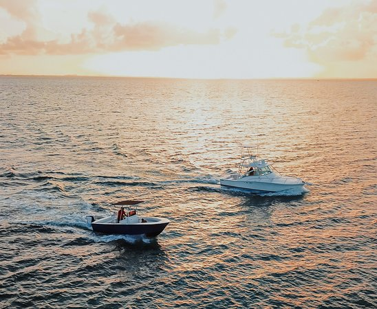 West Bay, Grand Cayman: Our Boats on the move