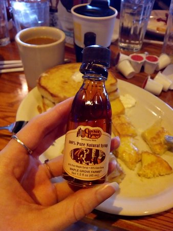 Barboursville, WV: Awesome & cute syrup! French toast was so good!