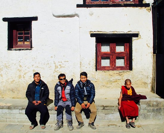 Himalayan Friendly Treks: Checking out a monastery.