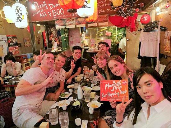 Magical Bar Hopping Japan