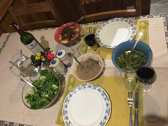 Charikot, Nepal: Swiss Meal!