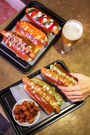 Under Dogs - new menu