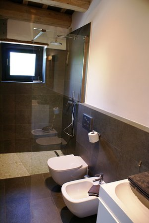 Montottone, Italy: Bathroom of apartment Fienile