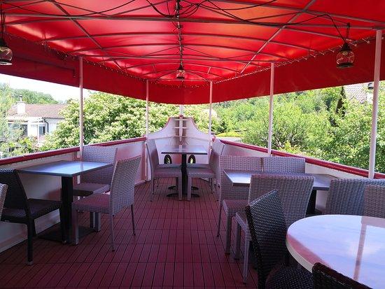 Terrasse tribord