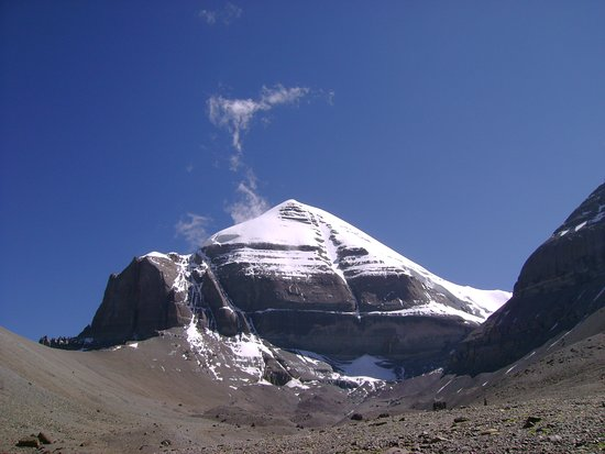 Burang County, Kina: Mt Kailash clicked while at inner parikrama in 2011 by Traveldost