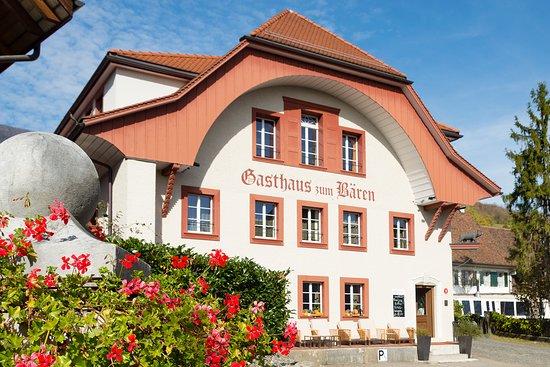 Oberbipp, שוויץ: Unser wunderschöner Gasthof Bären in Oberbipp.
