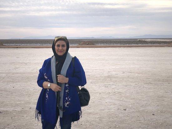 Mesr, Iran: Salt Lake