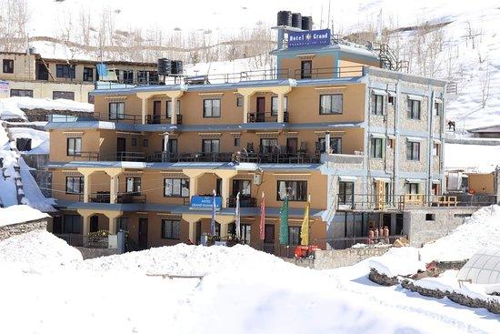 Muktinath, Nepál: Hotel Grand Shambala