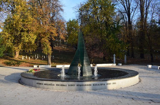 ‪Sarajevo Memorial for Children Killed during Siege‬