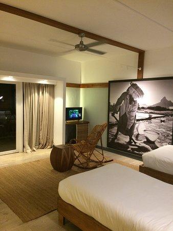 The Ravenala Attitude: Grande chambre très joliement décorée
