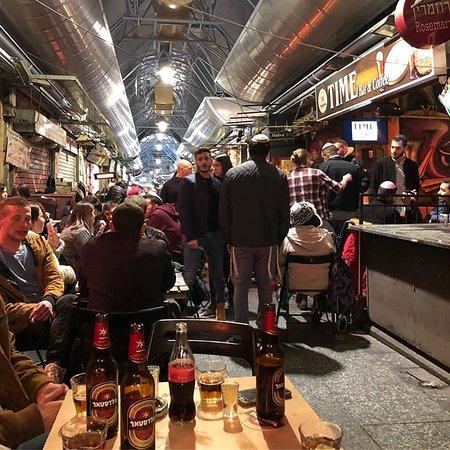 Mahane Yehuda Market de nuit