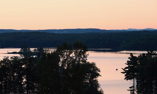 Ashburnham, MA: Evening fishing on Upper Naukeag Lake