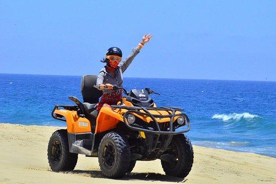 坎德拉里亚海滩和沙漠4x4 ATV之旅