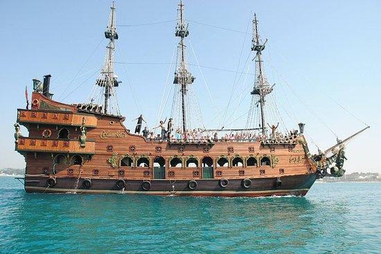 ハマメットの海賊ボートクルーズ