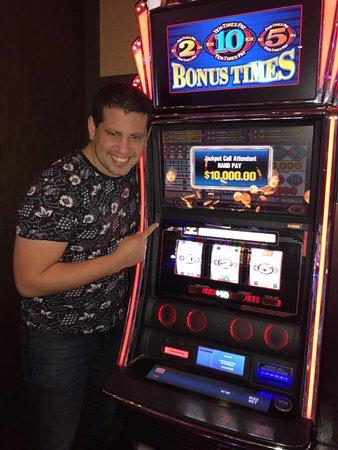 Highland, CA: Club Serrano Member David won $10K during President's Day Weekend 2019 at San Manuel Casino.