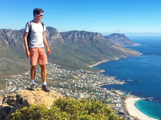 Sometimes the best way to view Cape Town is from Lion's Head. Let's climb up!