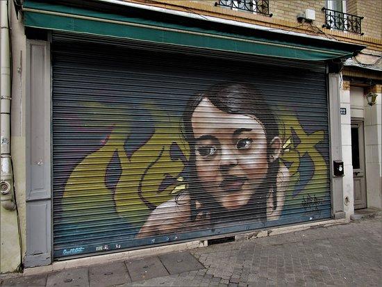 Fresque Demoiselle