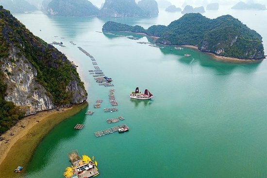 Lan Ha Bay & Ha Long Bay Cruise Day ...