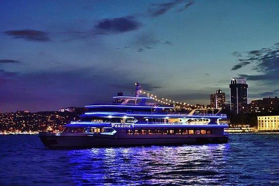Cena crucero y espectáculo nocturno...
