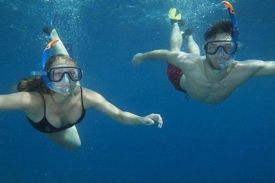 Etna et plongée en apnée